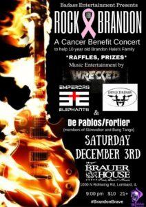 Rock for Brandon December 3, FITF, Faith in the Fallen