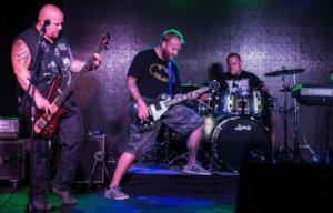 FITF 2016 Annual Rocking Review,, Rhythm section, Charles Bacani, Dan Dobbertin, Scott Guzik