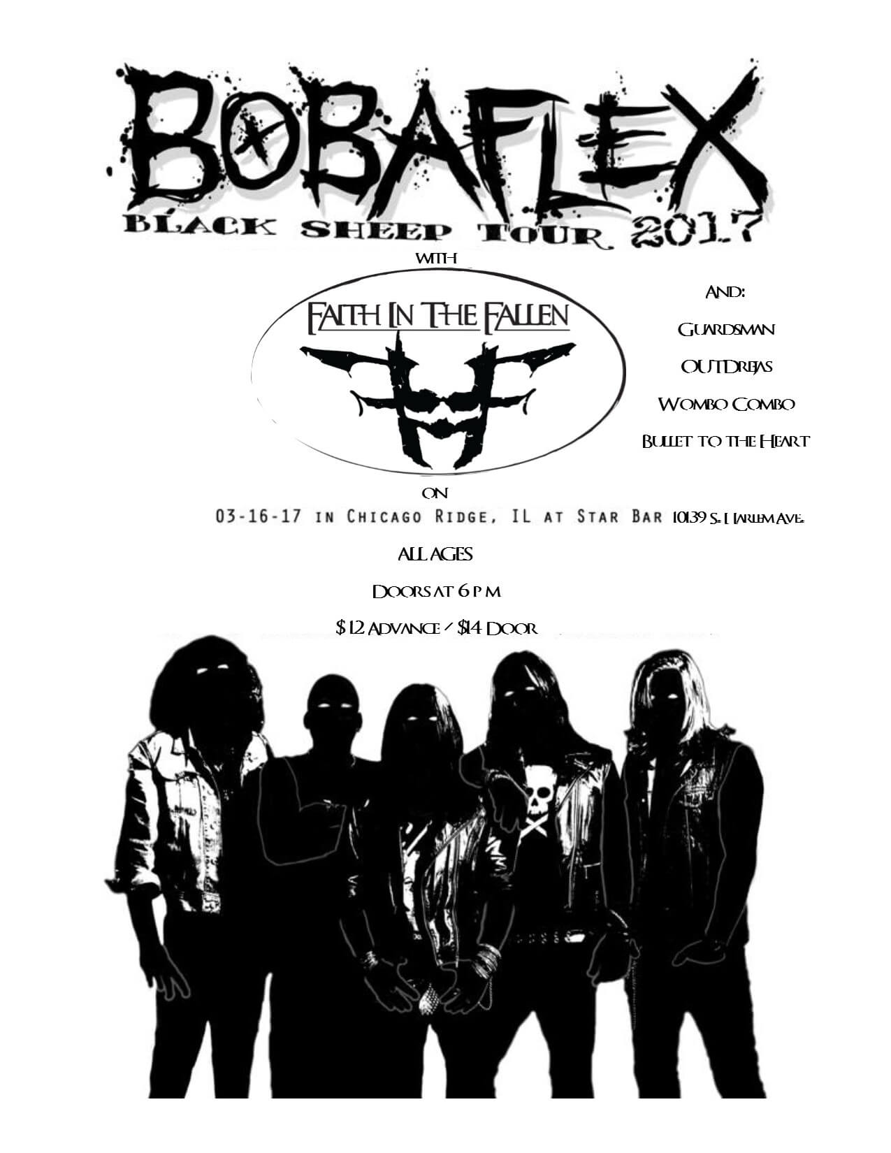 Bobaflex March 16-Anniversary Tapping March 22-Booking Shows Beyond